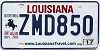 2017 Louisiana Battle of New Orleans Bicentennial # ZMD850