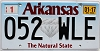 2017 Arkansas Diamond graphic # 052-WLE