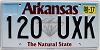 2017 Arkansas Diamond graphic # 120-UXK