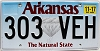 2017 Arkansas Diamond graphic # 303-VEH