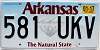 2017 Arkansas Diamond graphic # 581-UKV