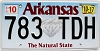 2017 Arkansas Diamond graphic # 783-TDH