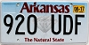 2017 Arkansas Diamond graphic # 920-UDF