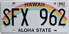 2017 Hawaii Rainbow # SFX-962