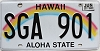 2017 Hawaii Rainbow # SGA-901