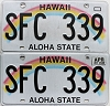 2017 Hawaii Rainbow pair # SFC-339