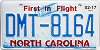 2017 North Carolina First In Flight # DMT-8164