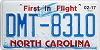 2017 North Carolina First In Flight # DMT-8310