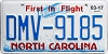2017 North Carolina First In Flight # DMV-9185