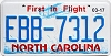 2017 North Carolina First In Flight # EBB-7312