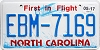 2017 North Carolina First In Flight # EBM-7169