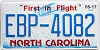 2017 North Carolina First In Flight # EBP-4082