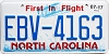 2017 North Carolina First In Flight # EBV-4163