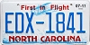 2017 North Carolina First In Flight # EDX-1841