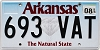 2018 Arkansas Diamond graphic #693-VAT