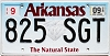 2018 Arkansas Diamond graphic #825-SGT