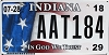 2018 Indiana In God We Trust graphic # AAT184