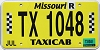 2018 Missouri Taxicab #1048