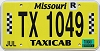 2018 Missouri Taxicab #1049