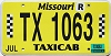 2018 Missouri Taxicab #1063