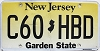 New Jersey Garden State graphic # C60-HBD