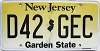 New Jersey Garden State graphic # D42-GEC