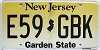 New Jersey Garden State graphic # E59-GBK
