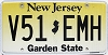 New Jersey Garden State graphic # V51-EMH