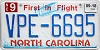2018 North Carolina First In Flight # VPE-6695