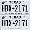 2018 Texas pair #HBX-2171