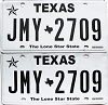2018 Texas pair # JMY-2709