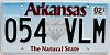2018 Arkansas Diamond graphic # 054-VLM