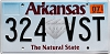 2019 Arkansas Diamond graphic #324-VST