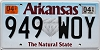 2019 Arkansas Diamond graphic #949-WOY