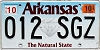 2019 Arkansas Diamond graphic #012-SGZ