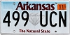 2019 Arkansas Diamond graphic #499-UCN
