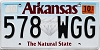 2019 Arkansas Diamond graphic #578-WGG