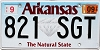2019 Arkansas Diamond graphic #821-SGT