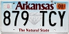 2019 Arkansas Diamond graphic #879-TCY