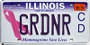 2019 Illinois Cure Cancer Vanity # GRDNR
