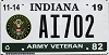 2019 Indiana Army Veteran #AI702