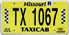 2019 Missouri Taxicab #1067