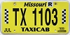 2019 Missouri Taxicab #1103