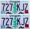 2019 Oregon pair #727-KJZ