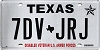 2019 Texas Disabled Veteran #7DV-JRJ