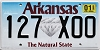 2020 Arkansas Diamond graphic #127-XOO