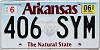 2020 Arkansas Diamond graphic #406-SYM