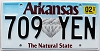 2020 Arkansas Diamond graphic #709-YEN