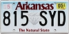 2020 Arkansas Diamond graphic #815-SYD