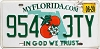 2020 Florida In God We Trust #954-3TY